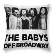 Concert Poster 1 Throw Pillow