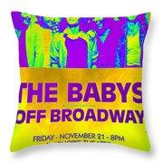 Concert Poster 2 Throw Pillow