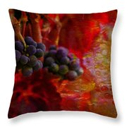 Concord Tendrils Throw Pillow