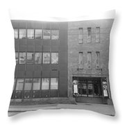 Concrete Blocks Throw Pillow