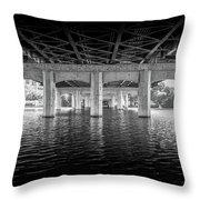 Concrete Bridge Throw Pillow