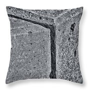 Concrete Corner 2787 Throw Pillow