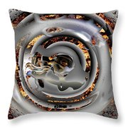 Concrete Jungle Throw Pillow