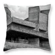 Concrete - National Theatre - London Throw Pillow
