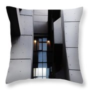 Concrete Shapes - Leeds Throw Pillow