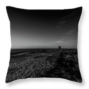 Concrete Shed Throw Pillow