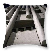 Concrete Upwards Throw Pillow