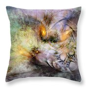 Concupiscent Nature Throw Pillow