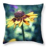 Cone Flower 2 Throw Pillow