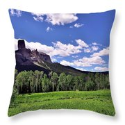 Cone Of Creation Throw Pillow