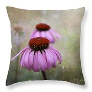 Coneflower Dream Throw Pillow