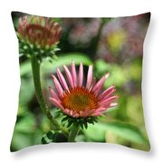 Cones Are Coming Throw Pillow