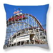 Coney Island Memories 2 Throw Pillow