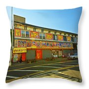 Coney Island Memories 4 Throw Pillow