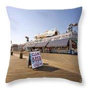 Coney Island Memories 7 Throw Pillow