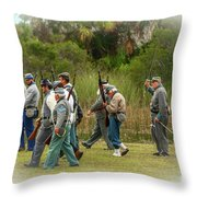 Confederate Advance Throw Pillow