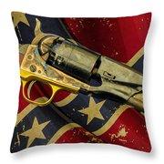 Confederate Sidearm Throw Pillow