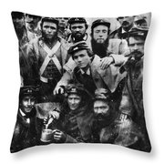 Confederate Soldiers, 1861 - To License For Professional Use Visit Granger.com Throw Pillow