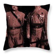 Confederate Tintype Civil War Throw Pillow