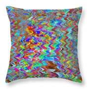 Confetti On The Fly Throw Pillow
