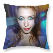 Confidence Throw Pillow