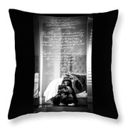 Confidently Lost - Immortal Beloved Love Letter Throw Pillow