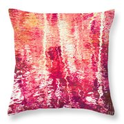Conflicted In The Moment Throw Pillow