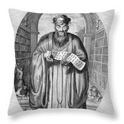 Confucius (c551-479 B.c.) Throw Pillow
