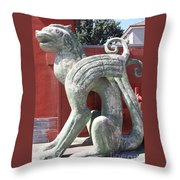 Confucius Temple Phoenix  Throw Pillow