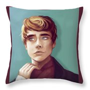 Confused And Scared Throw Pillow