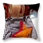 Confused Throw Pillow