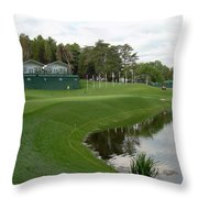 Congressional Blue Course - Sweet Par 3 10th Throw Pillow