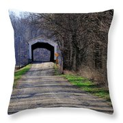 Conley's Ford Throw Pillow