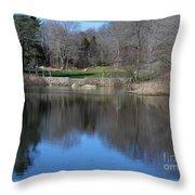Connecticut College Arboretum  Throw Pillow