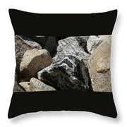 Connecticut Stones Throw Pillow