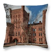 Connecticut Street Armory 3997a Throw Pillow
