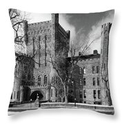 Connecticut Street Armory 3997b Throw Pillow