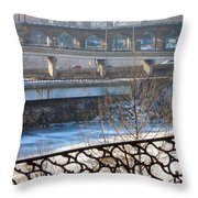 Connecting Paths And Patterns  Throw Pillow
