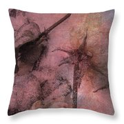 Connecting The Subconscious Iv Throw Pillow