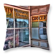 Connelly Bros Store. Throw Pillow