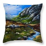 Connemara Galway Throw Pillow