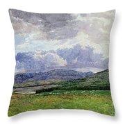 Connemara Mountains Throw Pillow