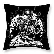 Conqueror Throw Pillow