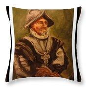 Conquistador Throw Pillow