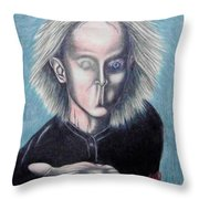 Consciousness Throw Pillow