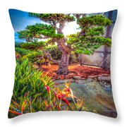 Consciousness Waves And Then Matters Throw Pillow