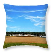 Conservation Farm 1 Throw Pillow
