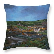 Consett, Blackhill, County Durham Throw Pillow