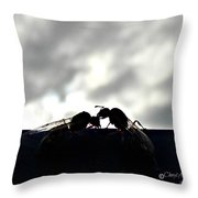 Consider The Ants 3 Of 3 Throw Pillow
