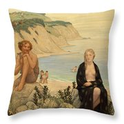 Consolation Of Ariadne Throw Pillow